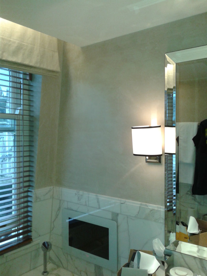 Polished plaster London